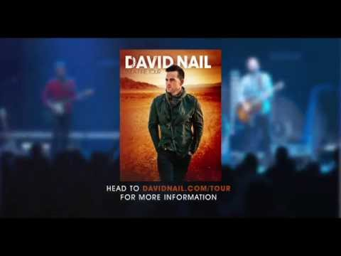"David Nail – ""I'm A Fire Tour"" Igniting This Fall"