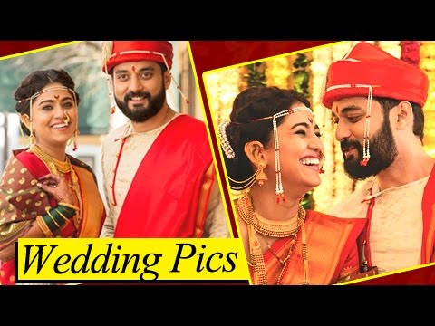 Mrunmayee Deshpande WEDDING Reception Pictures With Husband   Unseen Photos   Marathi Entertainment (видео)