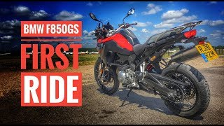10. 2018 BMW F850GS Review