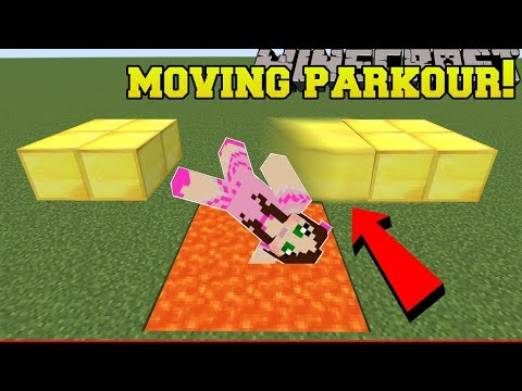 Minecraft  DEADLY MOVING PARKOUR!!! - A HOLE NEW WORLD - Custom Map 2