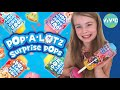 Pop A Lotz Surprise Pops Toy Review | NEW BLIND BAGS!