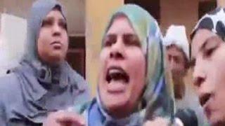 مصرية بتصرخ: السيسى حرامى خرب البلد وهيخلينا نشحت وانا مش خايفة منه