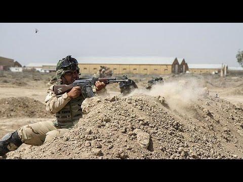 Ιράκ: Αμερικανοί στρατιώτες εκπαιδεύουν ιρακινούς κατά των τζιχαντιστών
