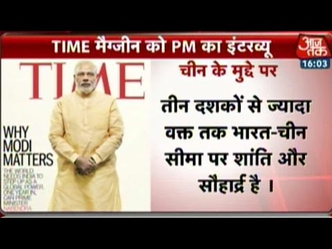 Modi To Feature On Time Magazine Cover-Page