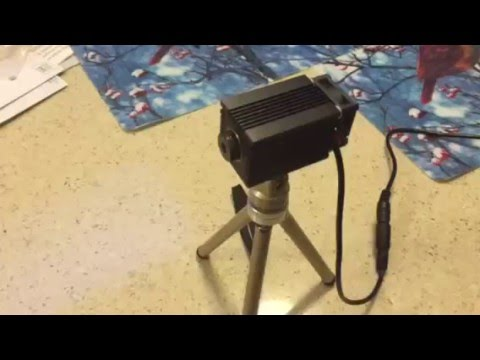 Laser test, Banggood.com 2.5 Watt laser module.