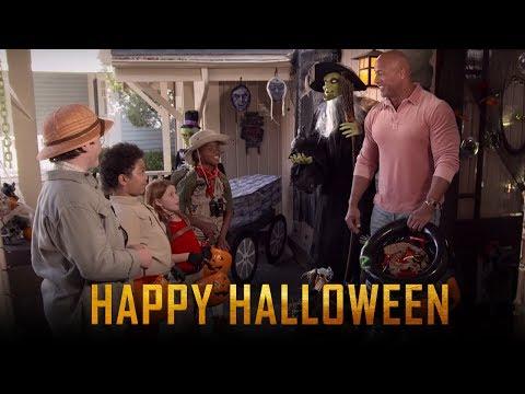 JUMANJI: THE NEXT LEVEL | Happy Halloween | Trailer Releases Today | Dwayne Johnson | Kevin Hart