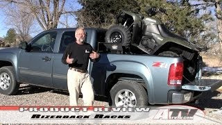 10. ATV Television - Rizerback Truckbed ATV-UTV Rack System