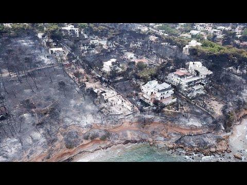 Πρώτη μήνυση κατά υπουργών για τη φωτιά στο Μάτι