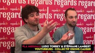 """Video Ludo et Stéphane, collectif Osons Causer : """"vulgariser l'actualité est décisif"""" MP3, 3GP, MP4, WEBM, AVI, FLV Agustus 2017"""