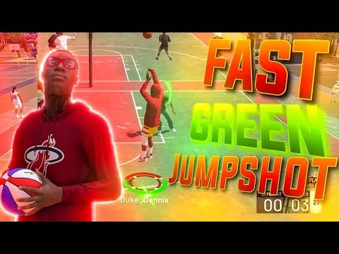 FAST GREEN JUMPSHOT FOR ALL ARCHETYPES ON NBA 2K19! BEST JUMPSHOT ON NBA 2K19