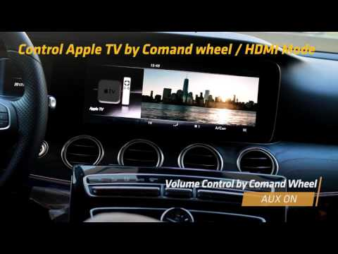 New E-CLASS W213 Apple TV with AUX SOLUTION (MB NTG 5 5 VIDE…