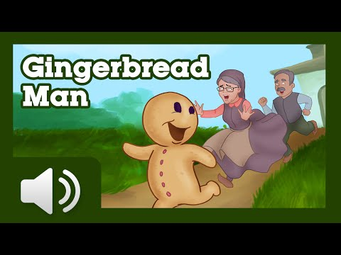 The Gingerbread Man - Children Story