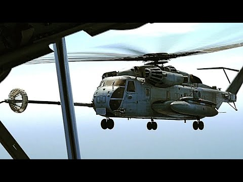 Super Stallion HELICOPTERS REFUELED...