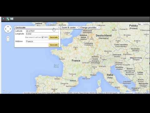 Web Map Hotspot Editor of Panotour Pro 2
