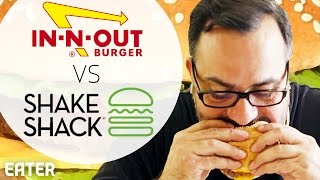 Does In-n-Out or Shake Shack Make a Better Burger? by Eater