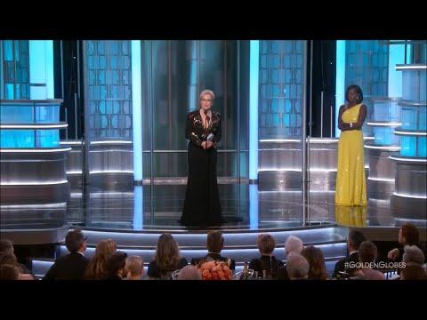 Viola Davis introduces Meryl Streep at Golden Globes 2017 (видео)