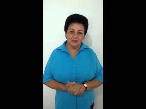 Depoimento: Izabel Augusta da Silva agradece Vinicius Carvalho pelos serviços prestados