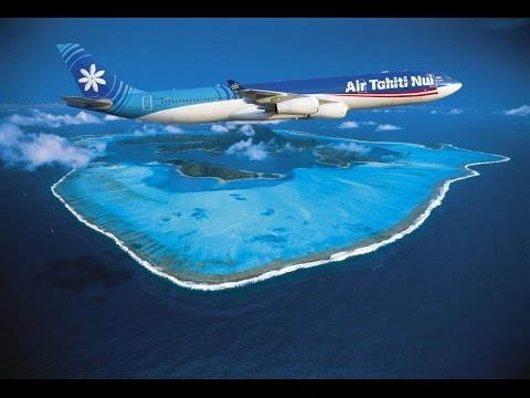 Cool video of an Air Tahiti plane s voyage shot with multiple GoPro