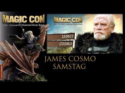 MagicCon (2018) Sa. Panel James Cosmo