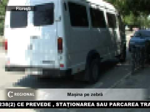 Mașină pe zebră