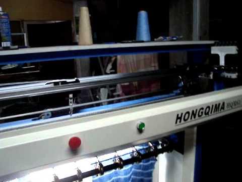 tejer cuellos - Maquina de tejer cuellos Fujian-Hongqima.