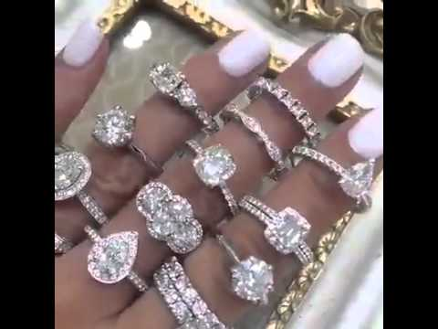 Breathtaking diamond ring collection ♥   Fashion Is My Drug   Facebook mp4