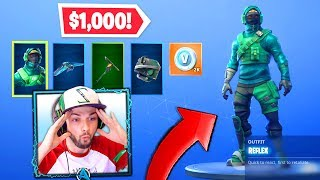 I got the NEW Exclusive PC skin in Fortnite! ($1,000)