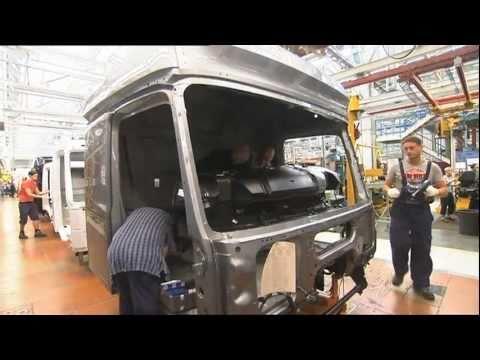 Грузовики Mercedes-Benz new ACTROS; 2011 trucks Production Plant Wörth