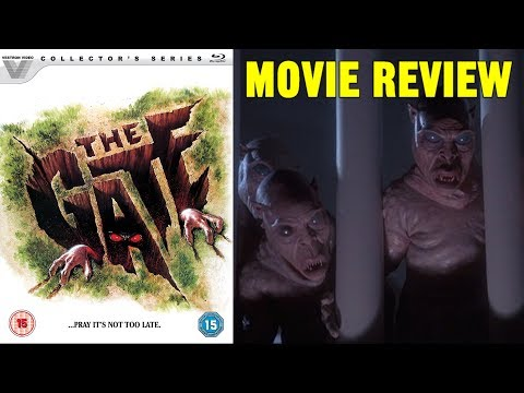 THE GATE (1987) - Vestron Video Movie Review