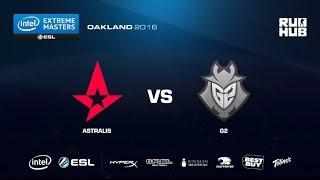 IEM Oakland - Astralis vs G2 eSports - de_nuke - [ceh9, CrystalMay]
