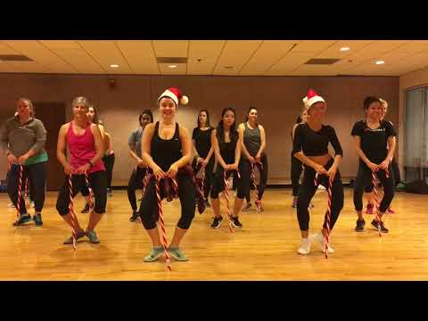 """RUDOLPH THE RED-NOSED REINDEER"" Trap Remix - Dance Fitness Workout Balletics Valeo Club"