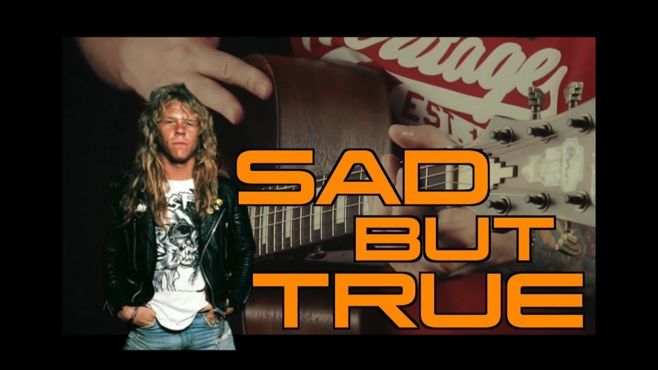 Metallica – Sad But True (acoustic guitar cover)