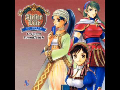 Atelier Lilie OST, Disc 1 - 10 - Karin's Iron Manufacturing Studio