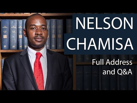 Nelson Chamisa | Full Address And Q&a | Oxford Union