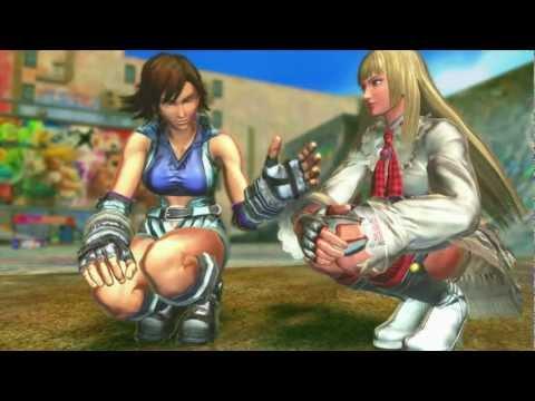 SFXT - Lili/Asuka Rival Battle Cutscene