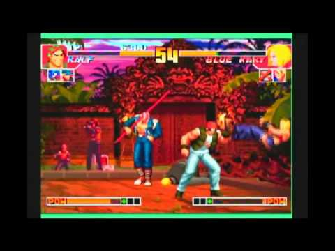 the king of fighters collection the orochi saga wii pal