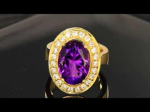 Rwanda Amethyst Ring