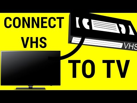 HOW TO CONNECT VHS TO SMART TV (easy)