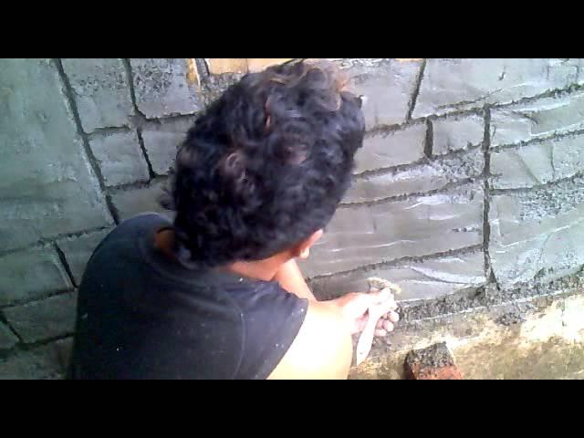 cara membuat taman relief batu alam aikmel hubungi