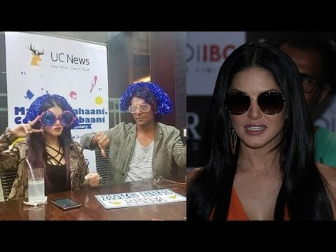 Sunny Leone Reaction On Commentary With Sunil Grover | IPL 10