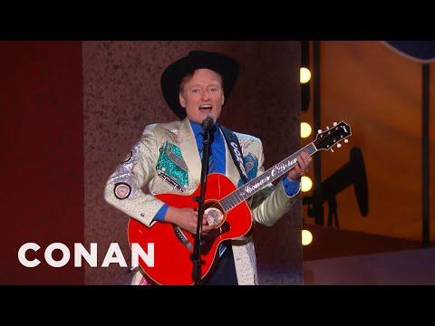 Conan slams Houston in Dallas Wikipedia Song