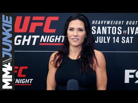 UFC Boise: Cat Zingano full media day interview
