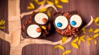 Cupcake de coruja