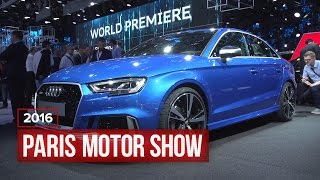 Audi RS3 Sedan: 400 Horsepower, Headed To America by Roadshow