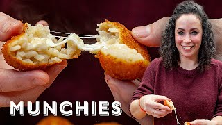 Fried Cheesy Rice Balls with Farideh - The Cooking Show by Munchies