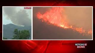 Incendio Holy sigue arrasando en Riverside- Noticias 62 - Thumbnail