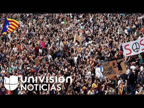 La tension en Catalogne augmente avec la répression policière lors du référendum