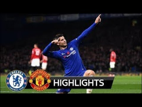 Chelsea 1-0 Manchester United - All Goals & Extended Highlights 05/11/2017 HD