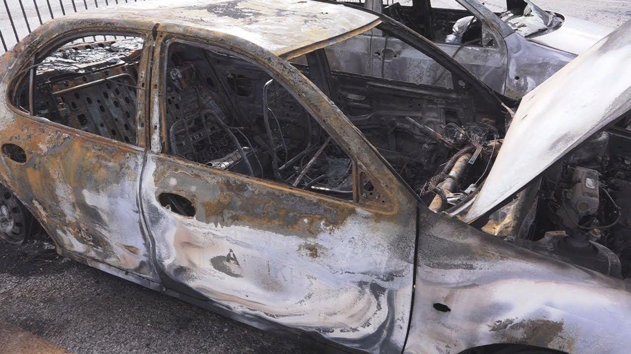 Ζημιές σε αυτοκίνητα της περιφέρειας Αττικής  μετά από εμπρηστική επίθεση