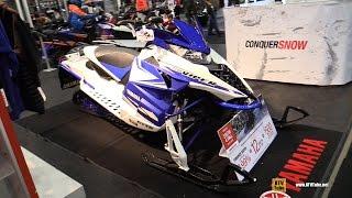 7. 2015 Yamaha SR Viper L TX SX Snowmobile Walkaround - 2014 Toronto Snowmobile & ATV Show